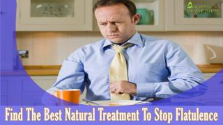 Find The Best Natural Treatment To Stop Flatulence