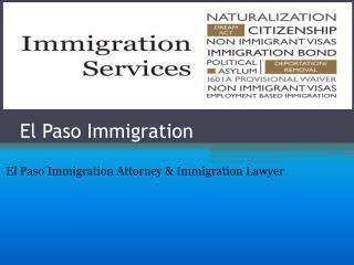 El Paso Immigration