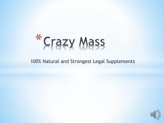 http://www.healthproducthub.com/crazy-mass-reviews
