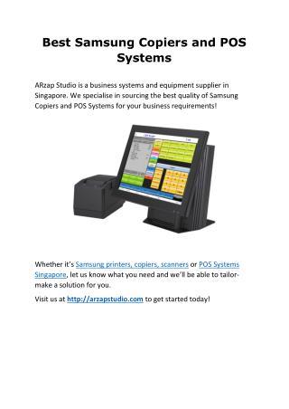 Copiers & POS System
