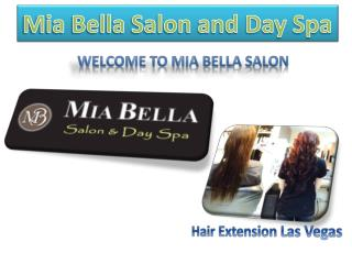 Mia Bella Salon and Day Spa | Wedding Hair Las Vegas