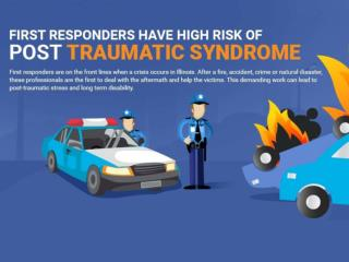 First responders have high risk of post-traumatic syndrome