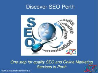 SEO Comapny and SEO Services in Perth | Discover SEO Perth