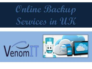Online backup Service in UK
