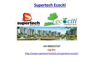 Supertech Ecociti Sector 137, Expressway, Noida