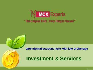 MCX expert tips