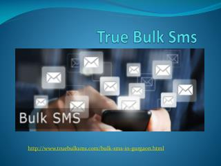 Reasonable And Best Bulk Sms Provider In Gurgon.