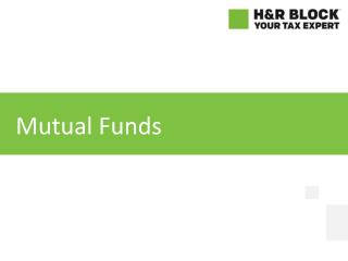 Do mutual fund investments qualify for a tax deduction?