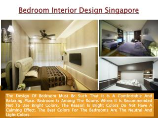 Bedroom Ideas Singapore