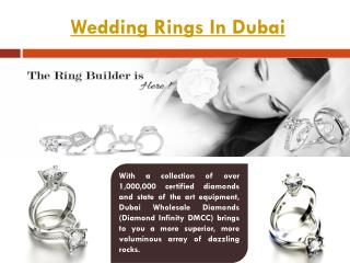 Wedding Rings Dubai