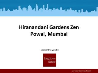 Hiranandani Maple - Residential Apartments at Powai