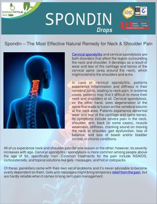 Cervical Spondylitis | Shoulder Pain | Neck Pain