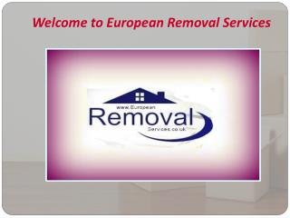 Reliable & Affordable Removals Services to Switzerland