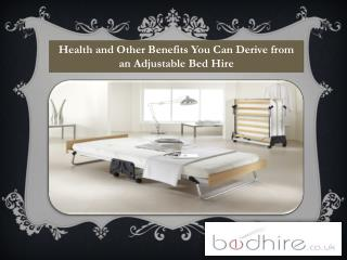 Health and Other Benefits You Can Derive from an Adjustable
