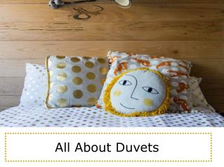 All About Duvets