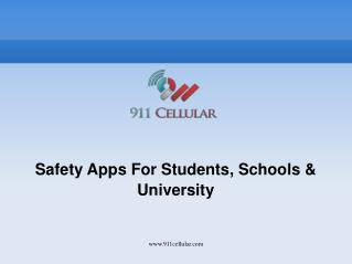 Schools and University Safety Apps
