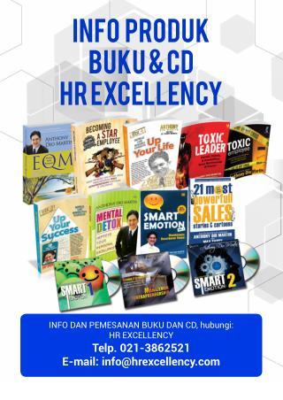 resensi buku dan cd produk HRE