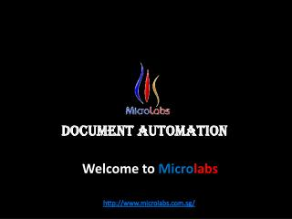 Document Automation Or Accounting Solutions By Microlabs