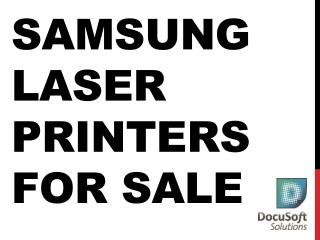 Samsung laser printers For Sale