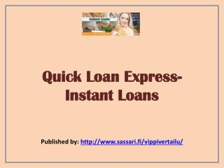 Instant Loans