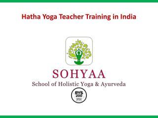 Hatha Yoga TTC in India - SOHYAA