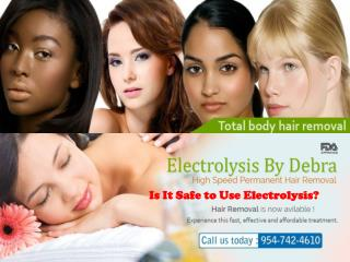 Electrolysis Coral Springs Florida