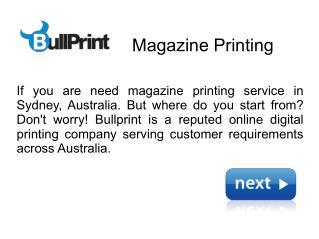 Magazine Printing Online