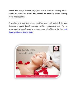 Best Beauty Salon in South Delhi