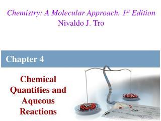 Chemistry: A Molecular Approach, 1st Edition Nivaldo J. Tro