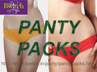 Bwitch's Panty Packs