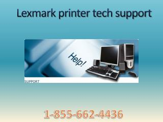 @1-855-662-4436 lexmark printer support for not printing text