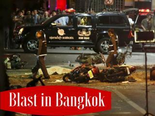 Blast in Bangkok