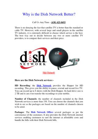 What are the Dish Network Services?