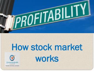 How Stock Market Works | Education Center