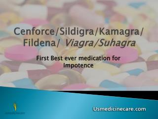 First Best ever medication ED