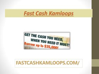 No Credit Car Loans in Kamloops