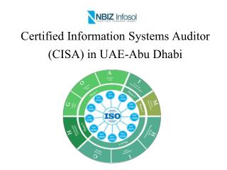 Certified Information Systems Auditor (CISA) in UAE-Abu Dhabi