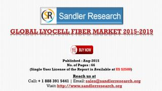 2019 World Lyocell Fiber Industry by Market Size, Trends, Drivers and Growth Opportunities Analysis and Forecasts Report