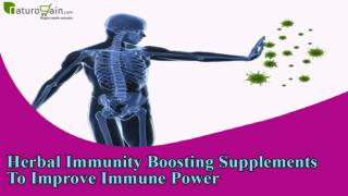 Herbal Immunity Boosting Supplements To Improve Immune Power