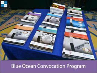 Blue Ocean Convocation Program