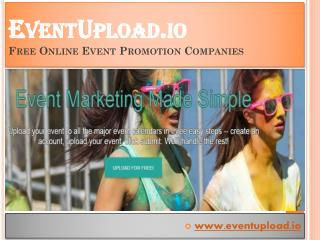 Free Online Event Marketing Companies