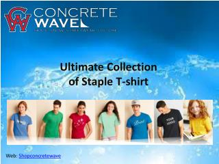 Full List of Staple Men's T-Shirts Collection.