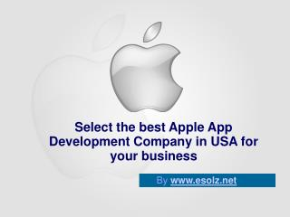 Apple App Development Company in USA Offers Best Solution