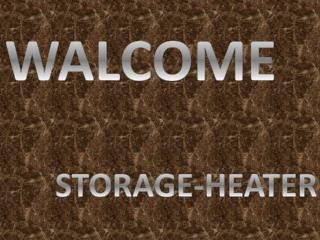 Broken storage heater