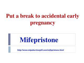 Buy Mifepristone online
