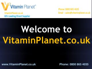 Buy Quality Vitamin Supplements and Minerals Online - Vitamin Planet UK