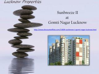 Book Apartments at Sunbreeze II Gomti Nagar Lucknow