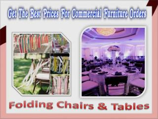 Get the Best Prices for Commercial Furniture Orders