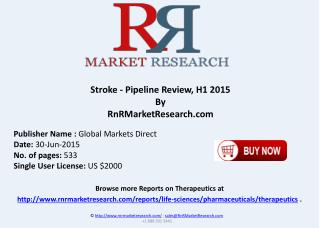 Stroke Pipeline Therapeutic Assessment Review H1 2015