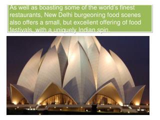 Delhi Foodie Festivals